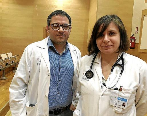 Dr Zaid Al Nakeeb & Dr María Arrizabalaga at Son Llàtzer Hospital
