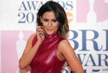 Caroline Flack at the BRIT music awards in London - Reuters archive