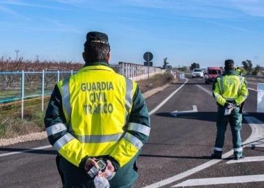 Guardia Civil patrol.