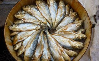 Arenques sold in Sineu market
