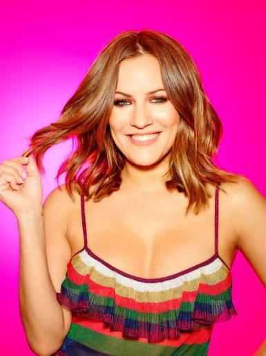 Majorca's reality TV presenter Caroline Flack.