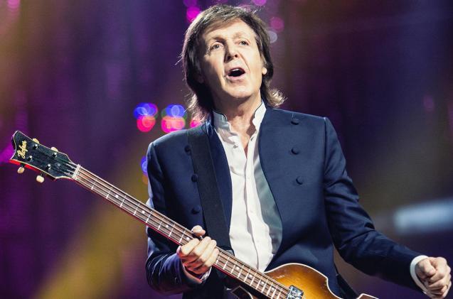 Paul McCartney on tour in 2015