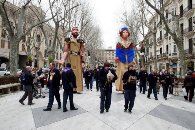 Balearics Day celebrations in Palma