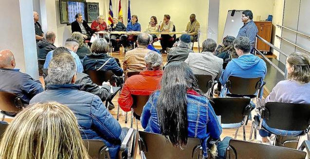 Representatives of Immigrant Associations met in Palma last week.