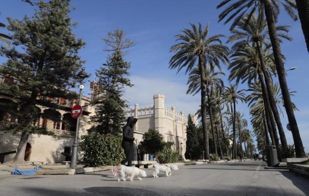Passeig de Sagrera, Palma.