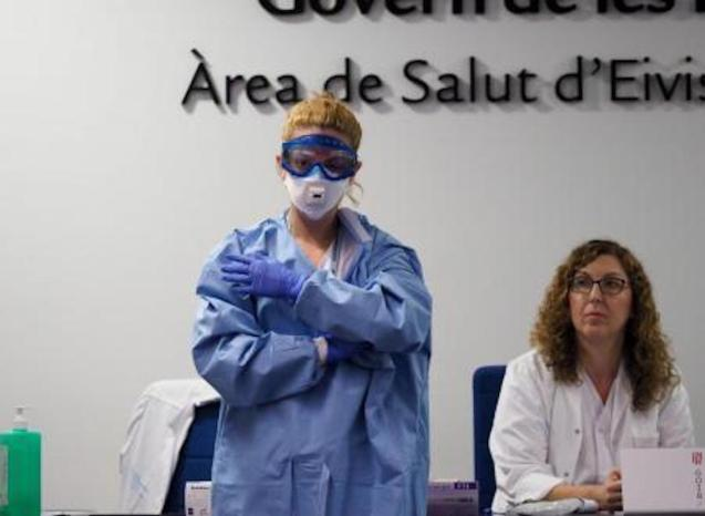 Ibiza confirms first coronavirus case.