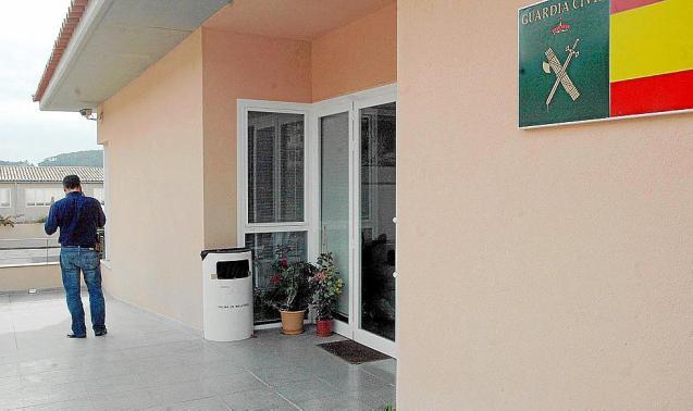 Guardia Civil station in Andratx