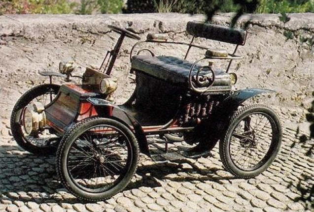 The first car to be registered in Palma