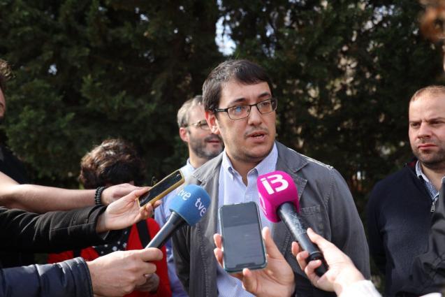 PALMA - POLITICOS - IAGO NEGUERUELA, CONSELLER DE TURISMO.