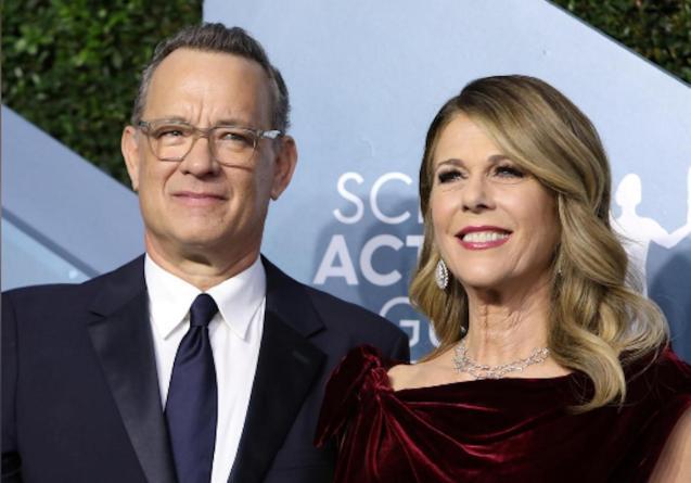 Tom Hanks & Rita Wilson, 26th Screen Actors Guild Awards, Los Angeles.