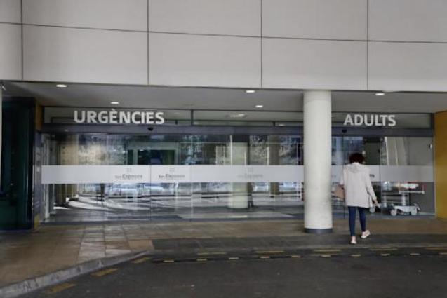 Entrance to Emergencies at Son Espases Hospital