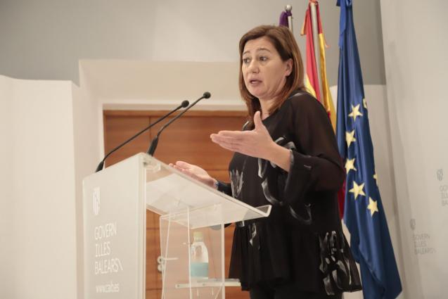 Balearic President, Francina Armengol