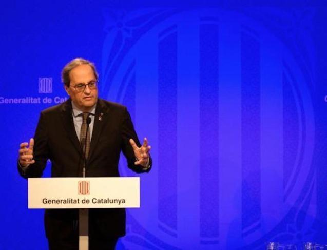 Catalonia Government announces coronavirus isolation.