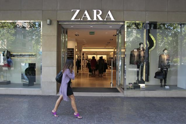 Fashion shop Zara is owned by Inditex