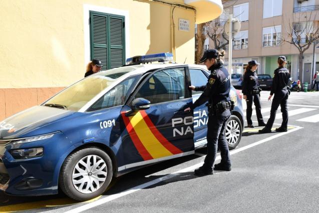 National Police in Palma.