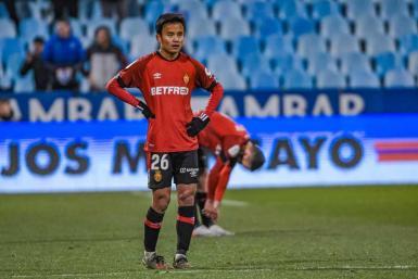 Take Kubo in the Copa del Rey match against Zaragoza.