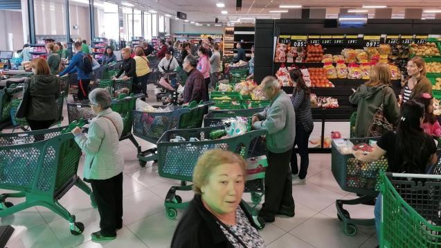 Mercadona introduces new regulations over coronavirus.