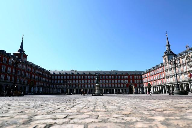 Madrid is pretty much empty