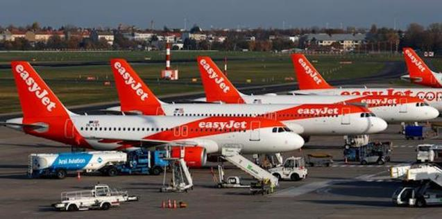 Coronavirus forces Easyjet to ground flights.