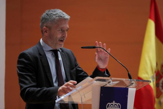 Fernando Grande-Marlaska, Interior Minister.