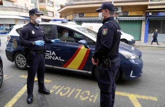 First arrest in Palma for disobeying coronavirus State of Emergency.