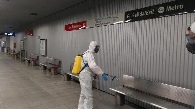 UME told to disinfect DGT stations in Spain.