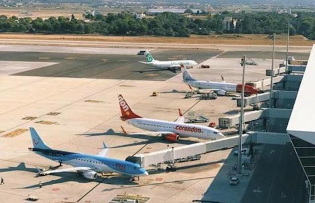 Balearic Islands bans air and sea travel.