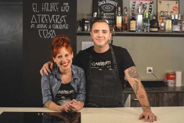 Ariadna Salvador y Pau Navarro, Clandestí.