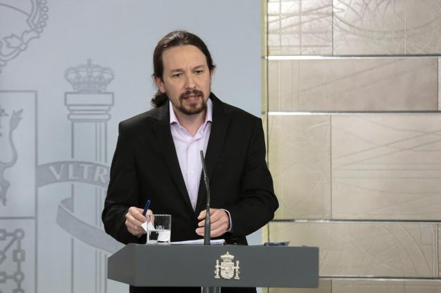 Pablo Iglesias didn't seem to be setting a great example.