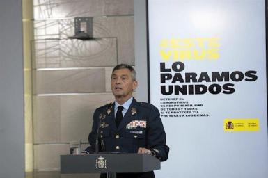 Spanish armed forces chief Miguel Villarroya.