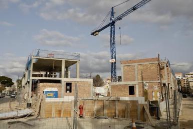 Building work in Palma.