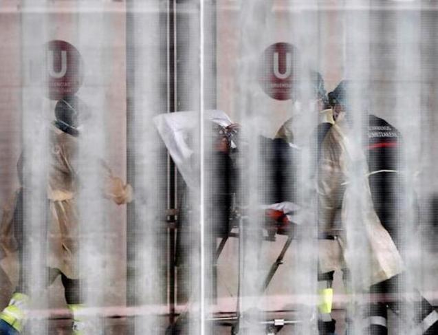 Death toll from coronavirus soars in Spain.