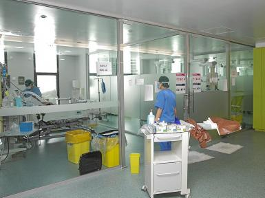Extra provision is being made for ICUs.