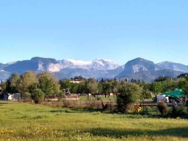 The Tramuntana mountains