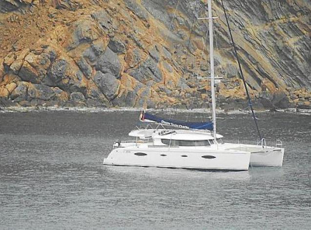 Catamaran refused entry to Port d'Andratx