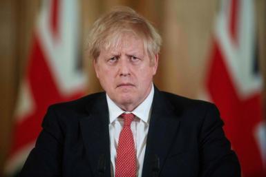 British PM Boris Johnson is self isolating at home.