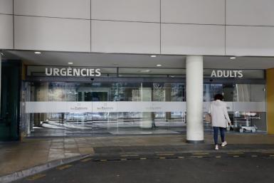 Son Espases Hospital in Palma.