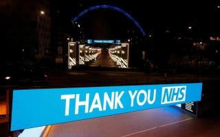 Tributes to Britain's National Health Service