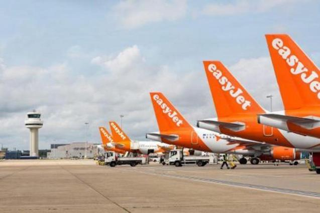 All Easyjet planes grounded.