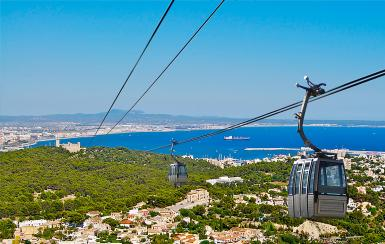 In 2016 the Ultima Hora published a spoof story saying that a cable car was running from Na Burguesa to Bellver Castle,