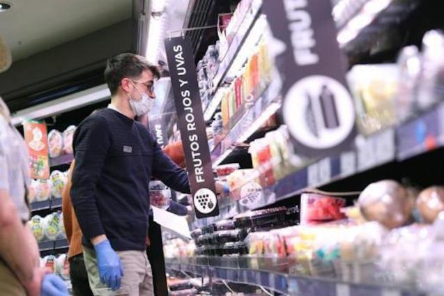 Supermarket prices stable during coronavirus lockdown.