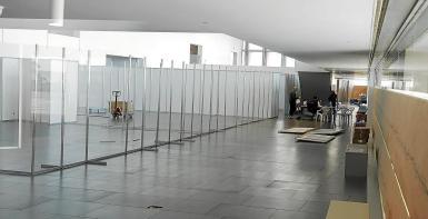 The Palacio de Congresos is being prepared if it is needed.
