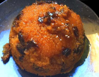 Golden Date Pudding.