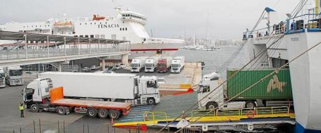 Shipping companies struggling during State of Emergency.