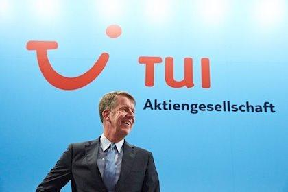 CEO of Tui, Fritz Joussen