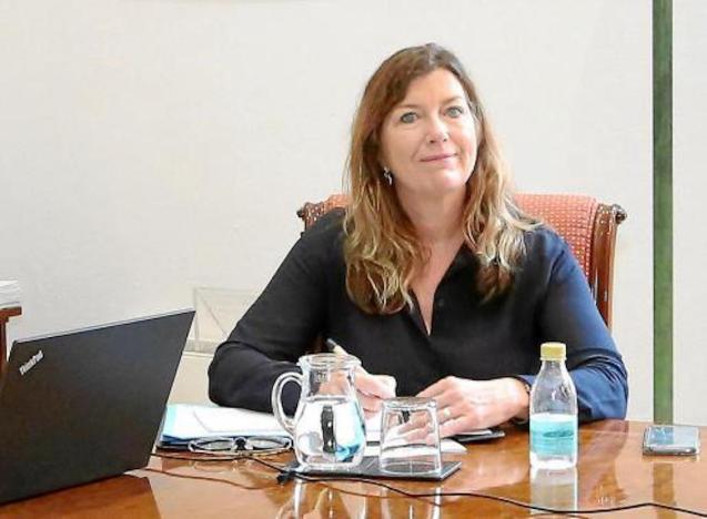 Patrícia Gómez, Health Minister says coronavirus data is positive.