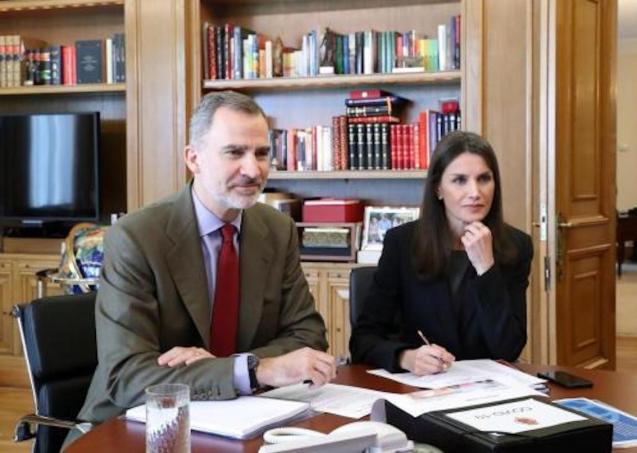 King Felipe VI of Spain & Queen Letizia