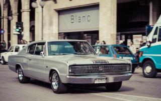 '66 Dodge Charger cruising Palma in 2015.