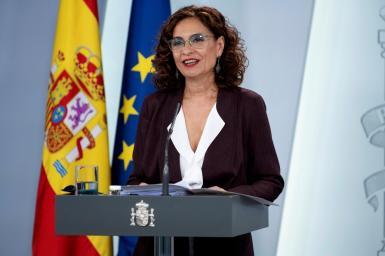 Spain's finance minister, María Jesús Montero.