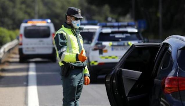 500 Police checkpoints in Majorca at Easter.